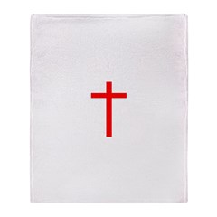 Red Cross Throw Blanket