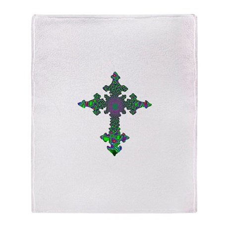 Jewel Cross Throw Blanket