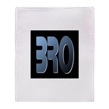 BRO Throw Blanket