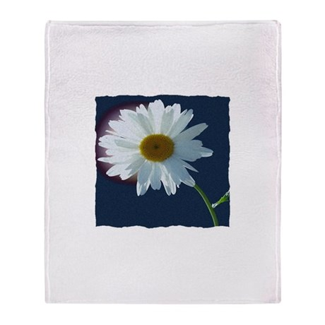 Daisy Throw Blanket