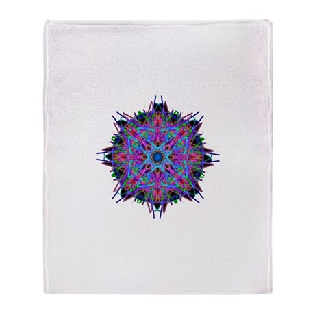 Kaleidoscope 005b2 Throw Blanket