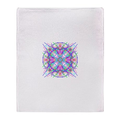 Kaleidoscope 005 Throw Blanket