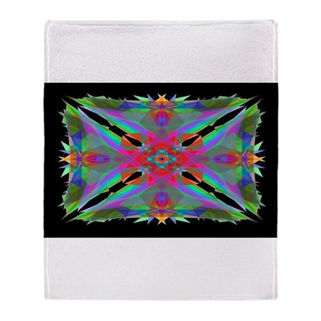 Kaleidoscope 000a Throw Blanket