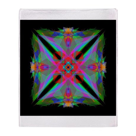 Kaleidoscope 000a2 Throw Blanket