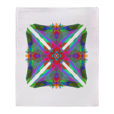 Kaleidoscope 000 Throw Blanket