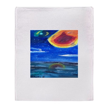 Asteroids Throw Blanket