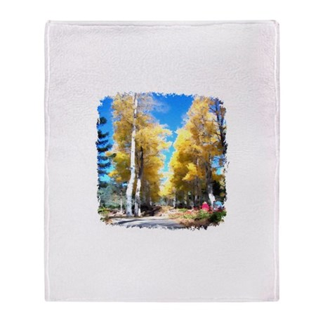 Aspen Trail Throw Blanket