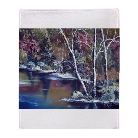Aspen Reflections Throw Blanket
