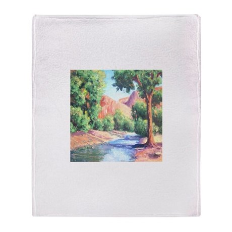 Summer Canyon Throw Blanket