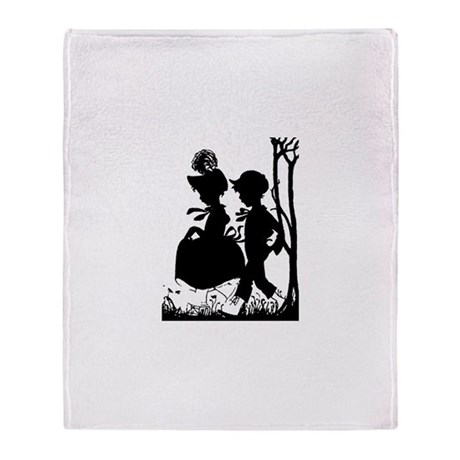 Young Love Throw Blanket