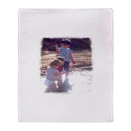 River Fun Throw Blanket