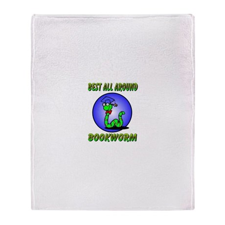 Best Bookworm Throw Blanket