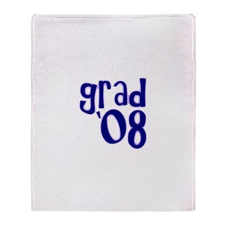 Grad 08 - Purple - Throw Blanket
