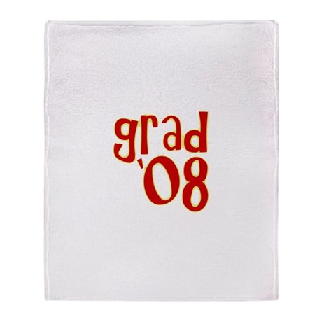 Grad 2008 - Red - Throw Blanket