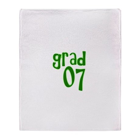 Grad 07 Throw Blanket