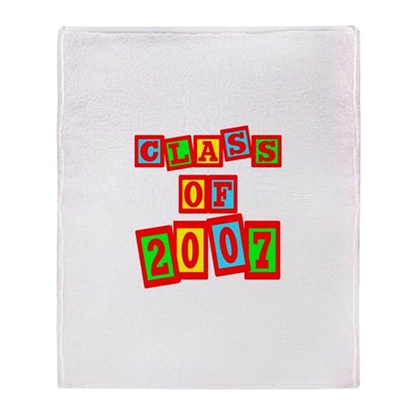 Class of 2007 Throw Blanket