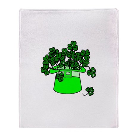 Leprechaun Hat Throw Blanket