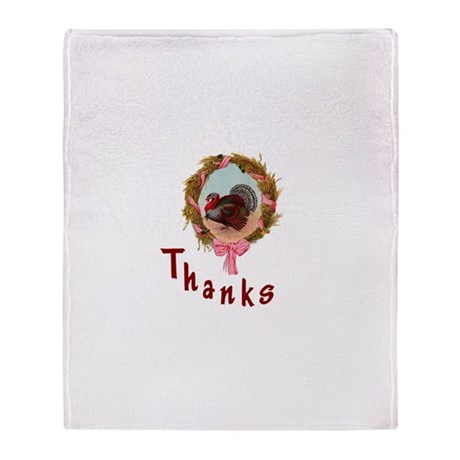 Thanks Turkey Throw Blanket