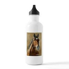 Cute Horse art Water Bottle