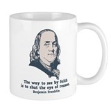 Franklin -Eye of Reason Small Mug