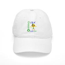 Save Earth Go Green Chick Baseball Cap