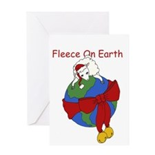 Fleece On Earth Greeting Card