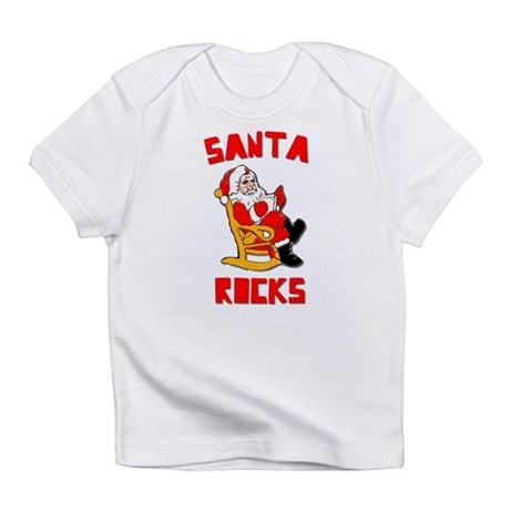 Santa Rocks Infant T-Shirt