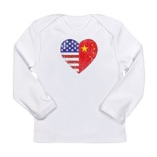 Family Heart Long Sleeve Infant T-Shirt