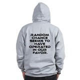 Classic Star Trek Quote Zip Hoodie
