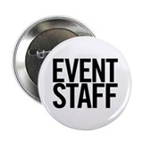 "Event Staff (black) 2.25"" Button (10 pack)"