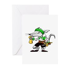 Dirty Rat Greeting Cards (Pk of 10)
