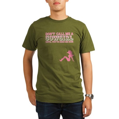 Cowgirl Organic Men's T-Shirt (dark)