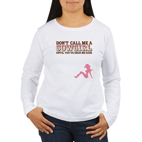 Cowgirl Women's Long Sleeve T-Shirt