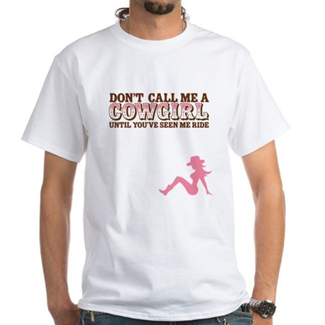 Cowgirl White T-Shirt