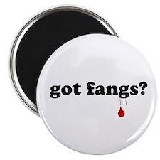 """got fangs? 2.25"""" Magnet (100 pack)"""