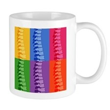 Spine Pop Art Tasse