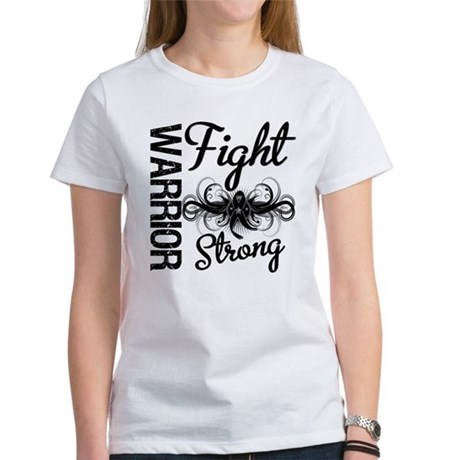 Warrior Skin Cancer Women's T-Shirt