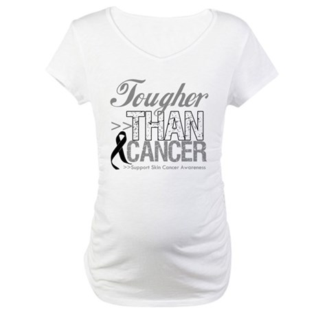 Tougher Than Cancer Maternity T-Shirt