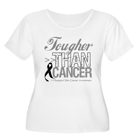 Tougher Than Cancer Women's Plus Size Scoop Neck T
