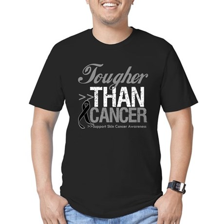 Tougher Than Cancer Men's Fitted T-Shirt (dark)