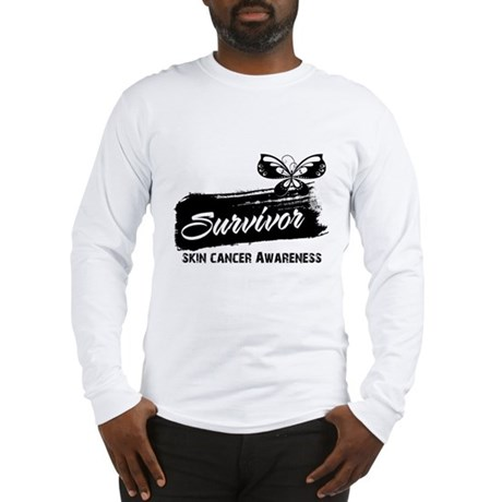 Skin Cancer Survivor Long Sleeve T-Shirt