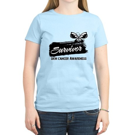 Skin Cancer Survivor Women's Light T-Shirt