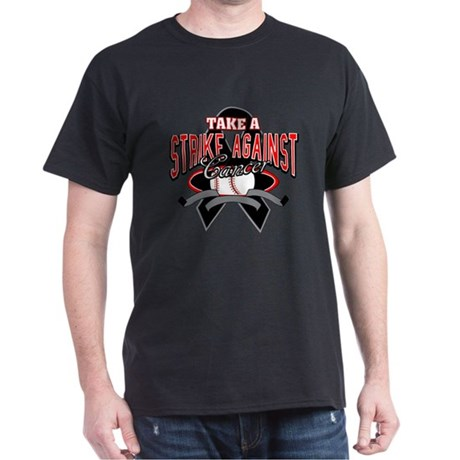 Take a Strike Skin Cancer Dark T-Shirt