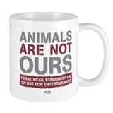 Animals Are Not Ours Small Mug