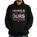 Animals Are Not Ours Hoodie (dark)