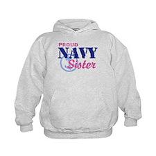 Proud Navy Sister Hoodie