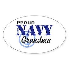 Proud Navy Grandma Decal
