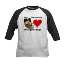 Neanderthals (Heart) Intelligent Design Tee
