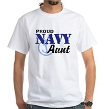 Proud Navy Aunt Shirt