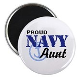 Proud Navy Aunt Magnet
